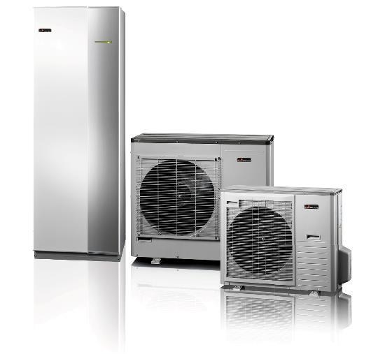 Nibe luft til vand varmepumpe kan sammensættes efter din boligs behov.